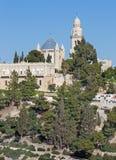 Jerusalem - Dormition abbey church. Royalty Free Stock Photos