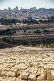 Jerusalem - en helig stad Arkivbilder
