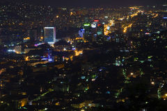 Sarajevo at night Stock Image