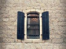 Jerusalem fönster Royaltyfri Fotografi