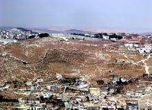 jerusalem för 2005 staket säkerhet Arkivfoto