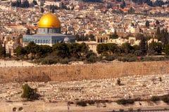 Jerusalem-Felsendom Israel stockfotografie