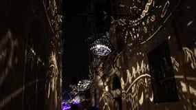 Jerusalem festival av ljus Royaltyfri Bild