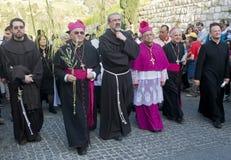 jerusalem gömma i handflatan sunday Fotografering för Bildbyråer