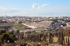 Jerusalem gammal stad Arkivbild