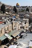 Jerusalem gammal stad Fotografering för Bildbyråer