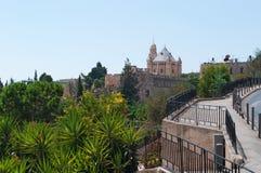 Jerusalem gammal stad, Israel, Mellanösten Arkivbild