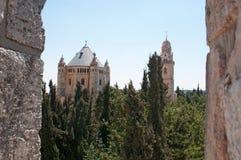 Jerusalem gammal stad, Israel, Mellanösten Royaltyfri Bild