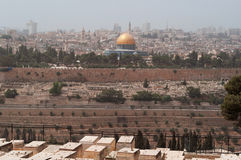 Jerusalem gammal stad, Israel, Mellanösten Royaltyfri Foto