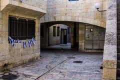 jerusalem gata fotografering för bildbyråer