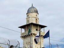 Jerusalem Ghawanima minaret 2012 Arkivbild