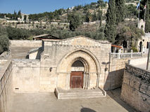 Jerusalem-Grab der Jungfrau im Januar 2008 Stockbild