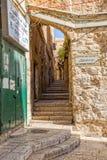 Jerusalem Greek Orthodox Patriarchate Street Royalty Free Stock Images