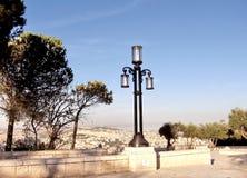 Jerusalem Haas Promenade Lantern 2010 Stock Photography