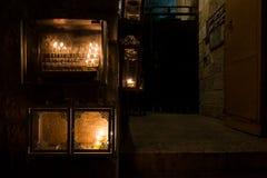 Jerusalem Hanukkah Western Wall Tunnels Tour. Israel Royalty Free Stock Photography