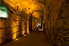 Jerusalem Hanukkah Western Wall Tunnels Tour. Israel Stock Photos
