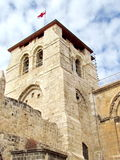 Jerusalem Holy Sepulcher bell tower 2012 Royalty Free Stock Photo
