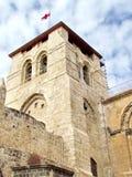 Jerusalem Holy Sepulcher bell tower 2012 Royalty Free Stock Photo