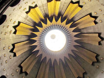 Jerusalem Holy Sepulcher top of central dome 2012 Stock Image