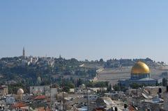 jerusalem horisont Arkivfoton