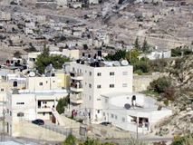 Jerusalem houses with flat roofs 2012 Royalty Free Stock Photos