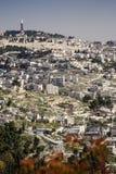 Jerusalem Israel Arkivfoto