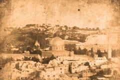 Jerusalem Israel. Retro look of the Orient - Jerusalem in Israel Royalty Free Stock Photos