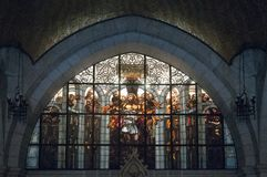Church of the Flagellation - Jerusalem stock photo