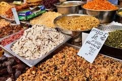 JERUSALEM, ISRAEL - APRIL 2017: Eastern market with traditional stock images