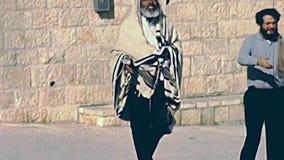 Old fashion Jerusalem stock video