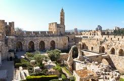 Jerusalem. Israel, Jerusalem, the Citadel and the Tower of David royalty free stock images