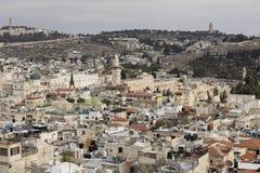 Jerusalem, Israel - 16. Dezember 2016: Die Stadt von David Stockfotos