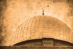 Jerusalem Israel Dome of the Rock Royalty Free Stock Photo