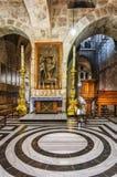 jerusalem israel Förlägga utseendet av Kristus till Mary Magdalene Royaltyfria Foton