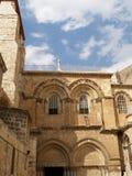 Jerusalem, Israel Fachada da igreja da ressurreição Fotografia de Stock Royalty Free