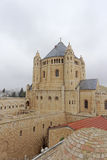Jerusalem, Israel - 14. Februar 2017 Basilika-Kirche des Dormition auf dem Mount Zion Stockbild