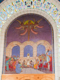 JERUSALEM, ISRAEL am 13. Juli 2015 Das Urteil von Jesus vor San Lizenzfreies Stockbild