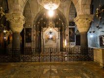 JERUSALEM ISRAEL - Juli 15, 2015: Ett av kapellen Royaltyfri Foto