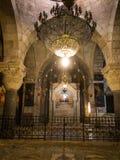 JERUSALEM ISRAEL - Juli 15, 2015: Ett av kapellen inom th Royaltyfri Bild