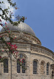 Jerusalem Israel, 15 Juni 2017 den etiopiska ortodoxa kyrkan Arkivbilder