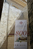 Jerusalem Israel 11 Juni 2017, en gata i Christian Quarte Royaltyfria Foton