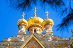 Jerusalem, Israel - Maria Magdalena Orthodox Church Stock Photography