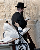 JERUSALEM, ISRAEL - OCTOBER 31, 2014:  An unidentified Hasidic J Stock Photos