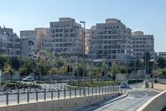 JERUSALEM ,ISRAEL - OCTOBER 20 2017. View of Jerusalem from Mount Herzel.  royalty free stock images