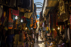 Jerusalem,Israel, the Old City market Royalty Free Stock Photo