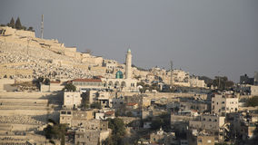Jerusalem,Israel, the Old City. Israel,Jerusalem,Old City view from the hill upon the Western Wall royalty free stock photo