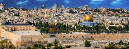 Jerusalem, Israel, Old Town Royalty Free Stock Images