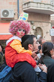 Jerusalem, Israel - Purim carnival Stock Photography