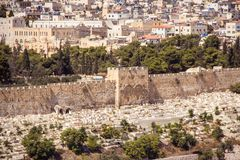 Jerusalem, Israel, Temple mountain without El-Aqsa mosque Stock Photo