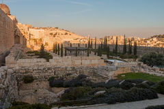 Jerusalem, Israel, view of the city Stock Images